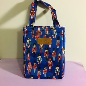 Food Insulated Cooler Bag toy soldier print New